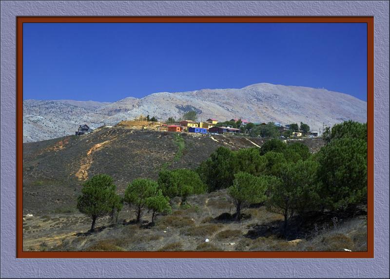 Nimrod, Golan heights