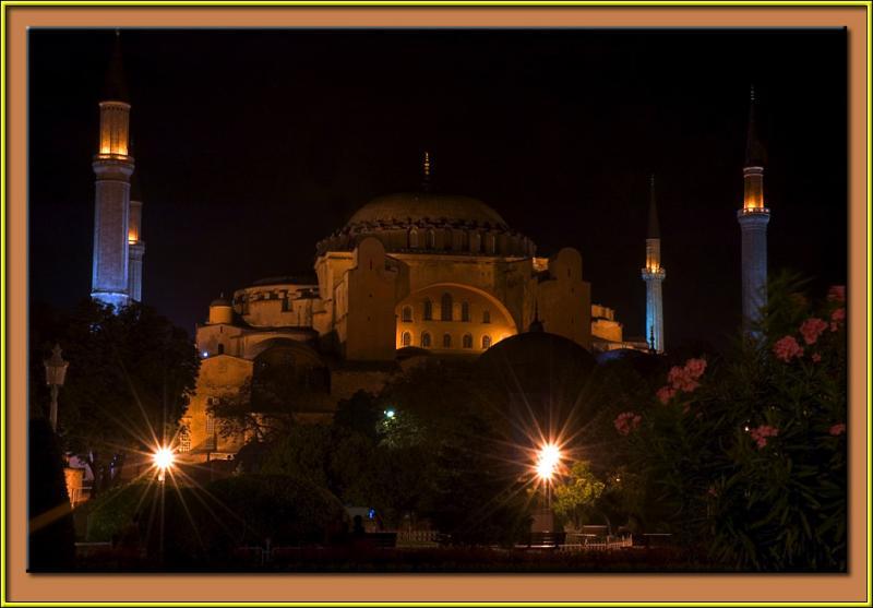 Hagia Sofia, Istanbul.