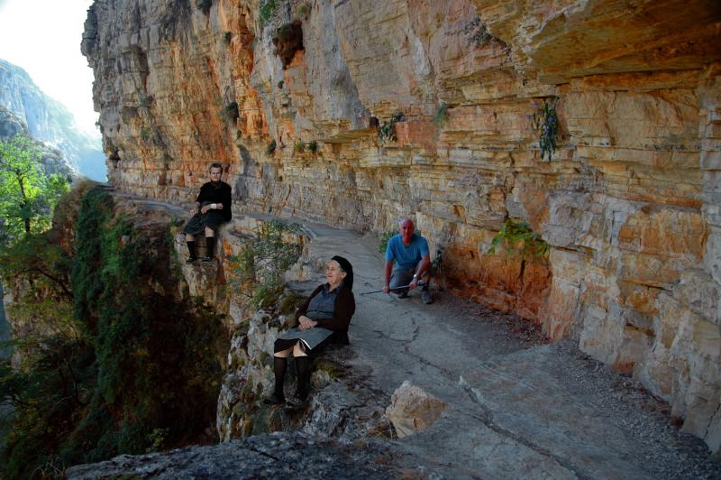 The Vikos fairies (Greece)... and me...