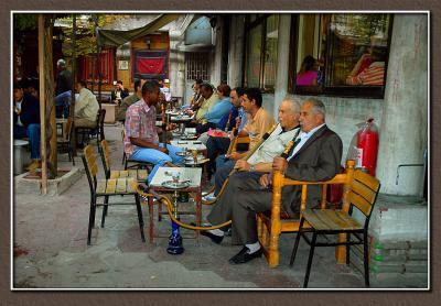 Nargila & tea, Istanbul