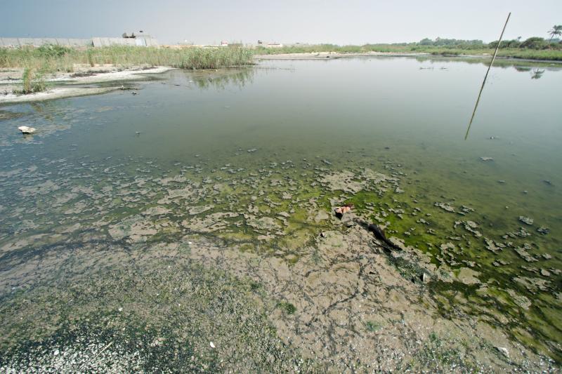 Wadi Gaza under stress