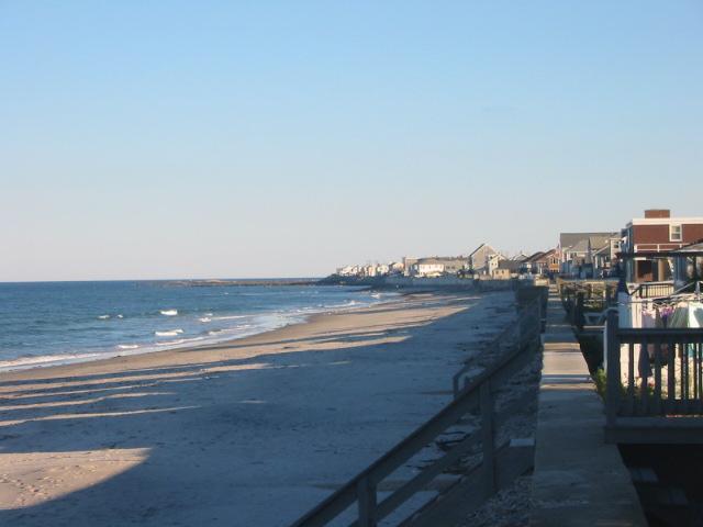 Ocean Bluff Beach Looking South
