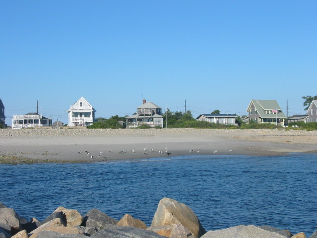 Bluefish Cove from Jetty