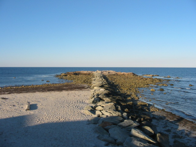 The Rock & Jetty at Brant Rock