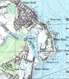 Map of South Coastal Marshfield