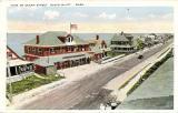 Ocean Street - Ocean Bluff - Postmark 1924