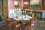 crimson dining room right side
