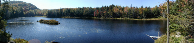 Bumps Pond Panorama