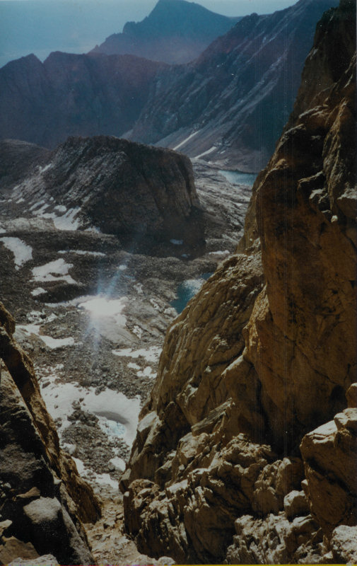 Mount Whitney hike in 1980