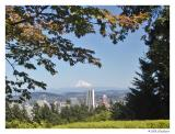 AS VIEWED FROM DOWNTOWN PORTLAND