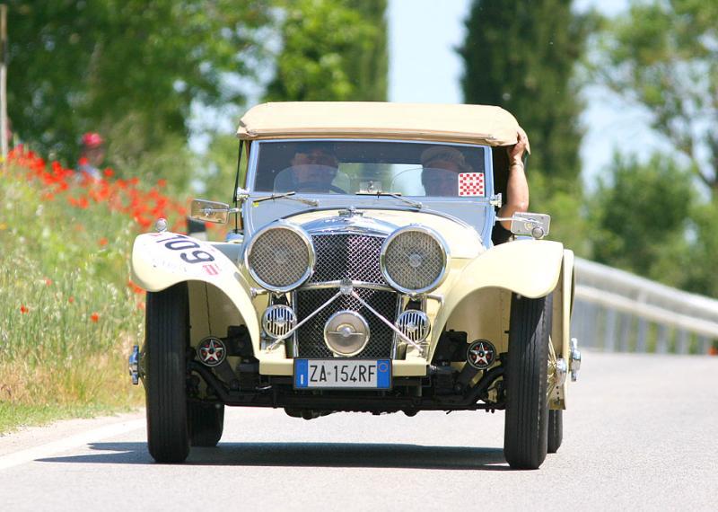 SS Jaguar 100 1937