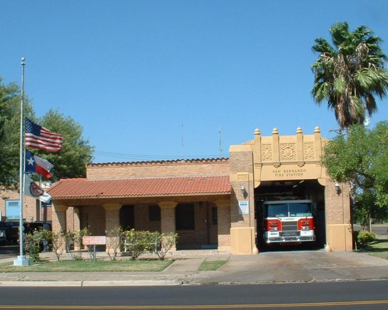 San Bernardo Fire Station, Laredo, Texas