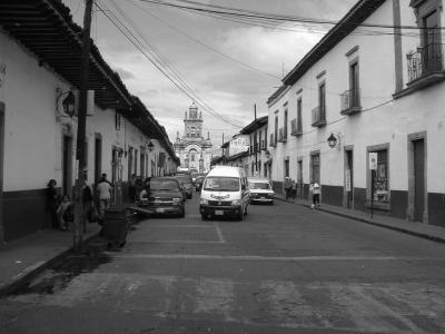 Pátzcuaro Calles y Plazas