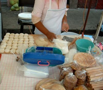 Gorditas dulces hecho a mano
