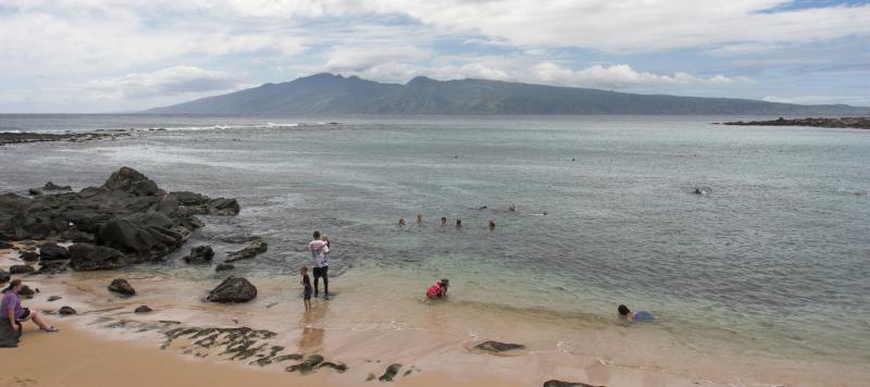 Molokai from Kapalua Bay