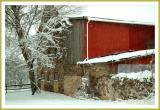 Winter Morning at Farbotnik Barn