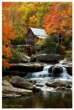 Autumn at Glade Creek Grist Mill