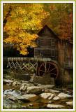 Sunlight onGlade Creek Grist Mill
