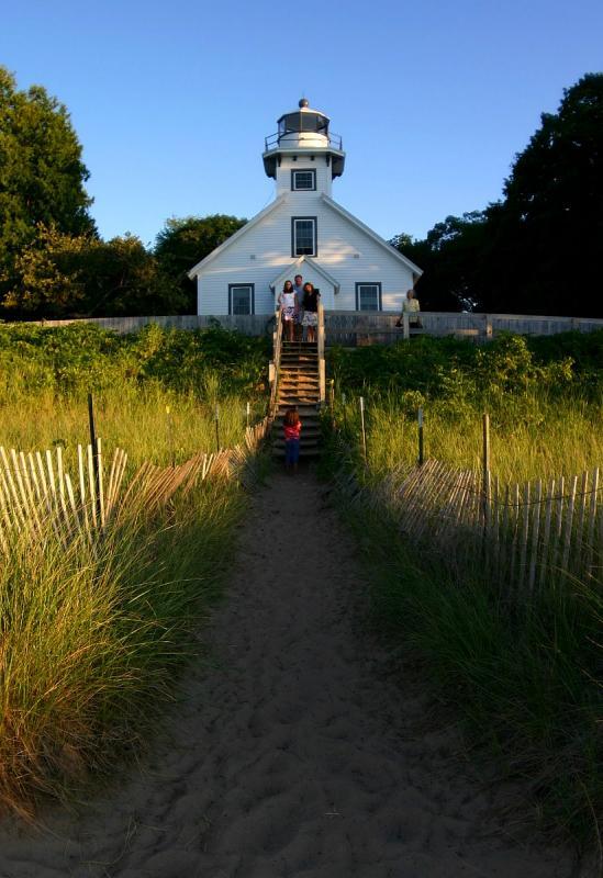 Mission Point Light Lighthouse