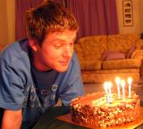 - 20th September 2005 - birthday boy