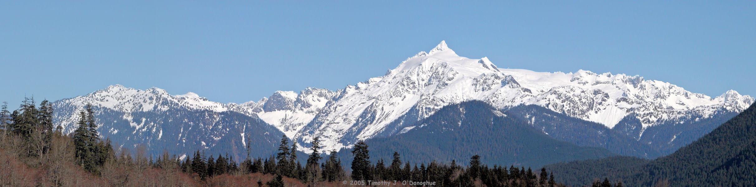 South Face of Mount Shuksan, WA