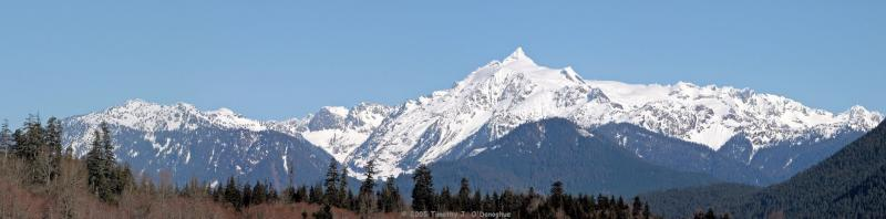 South Face of Mount Shuksan, WA