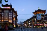 Chenghuangmiao Shopping District  - Main Street Evening View