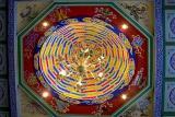 Da Ci'en Temple - Colorful Ceiling