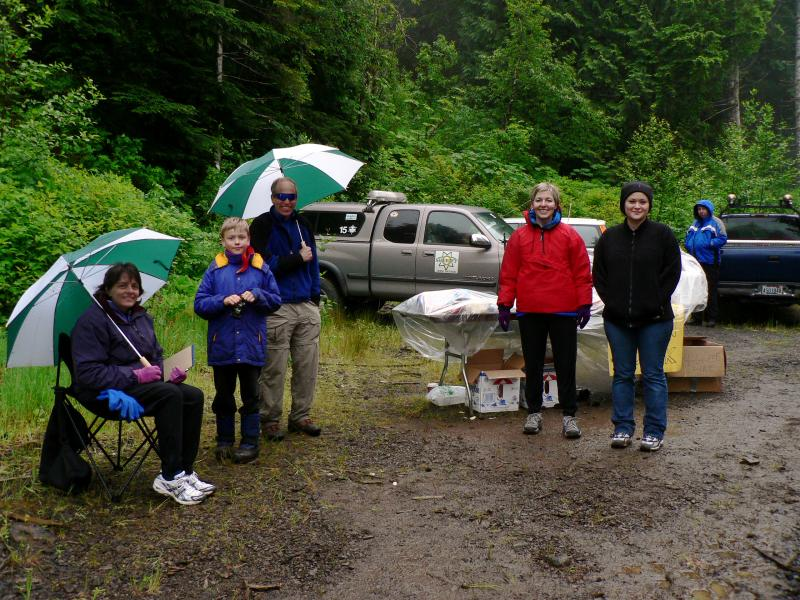 Iron Creek Aid Station 2