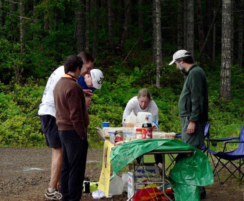 Aid Station 4 Action
