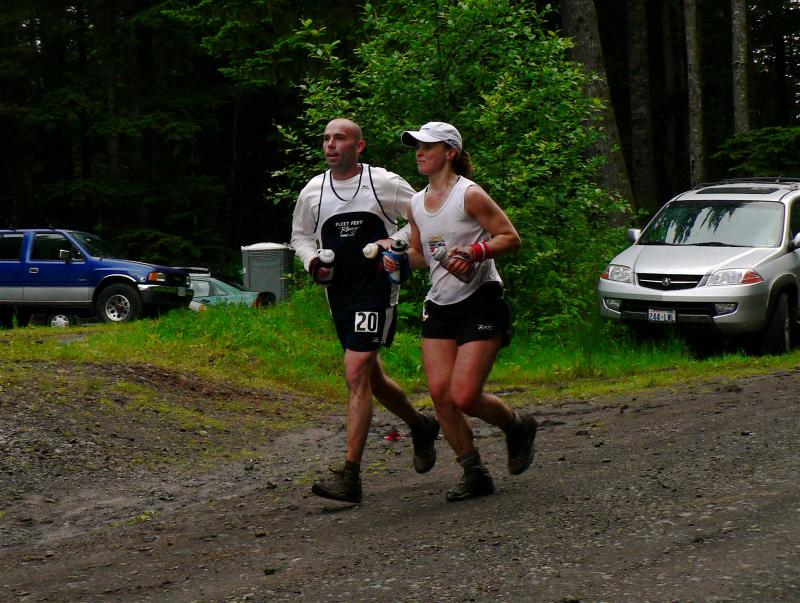Rob Hester & Olga Varlamova finish