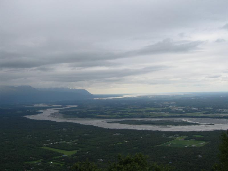 View of the Matanuska River
