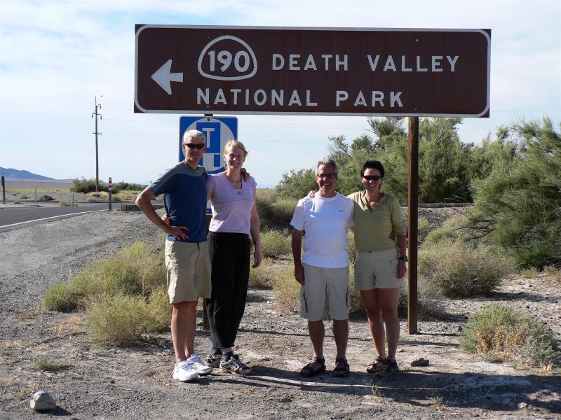 Team Jerker heading into Death Valley