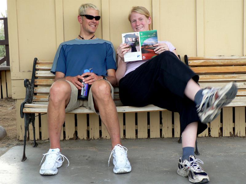 Justin & Maggie Angle at Furnace Creek