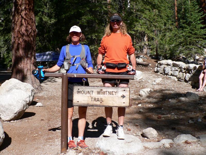 Scott & Dusty about to summit Whitney