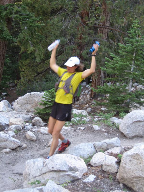 Scott completes the climb