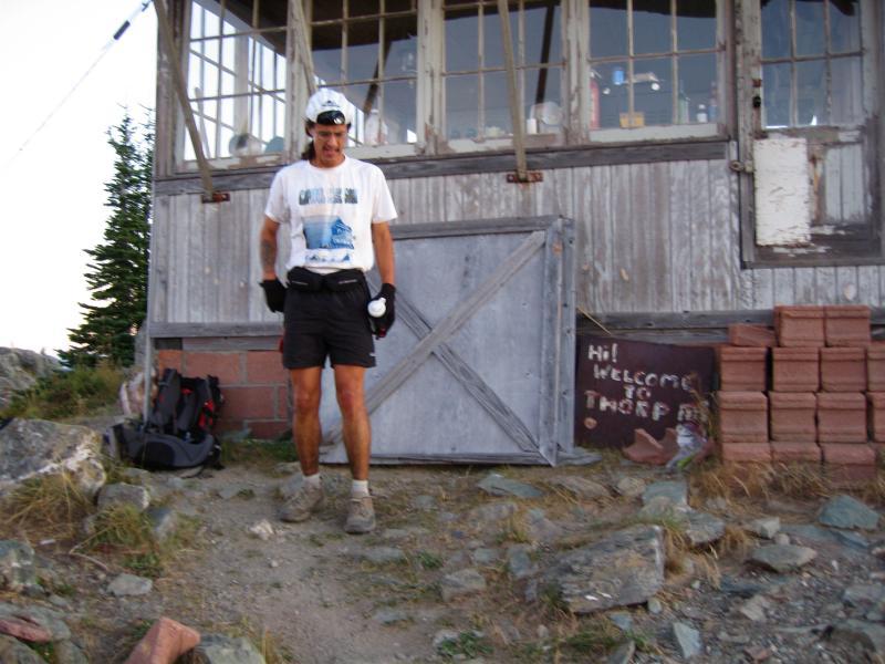 Tony C on Thorpe Mt.