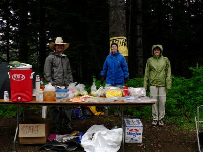 Capitol Junction Aid Station<br>Mile 42.6 & 46.46</br>