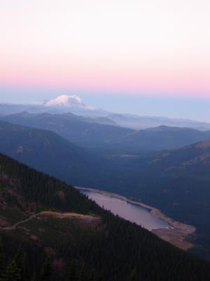 Mt. Rainier from Thorpe Mt.
