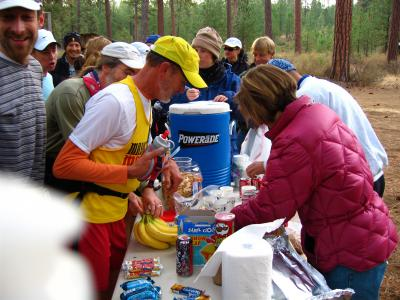 Aid Station #1<br>Sisters Cow Camp</br>