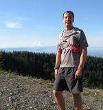 Walter with Mt. Rainier