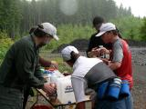 More Aid Station 4 Action