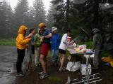 Aid Station 7 Action