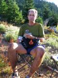 Bill Thomas at French Cabin