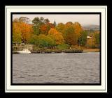Fall in Lake George