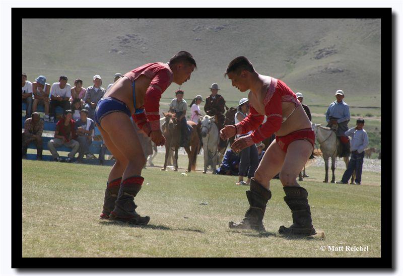 Final Bout, Naadam, Kharkhorin