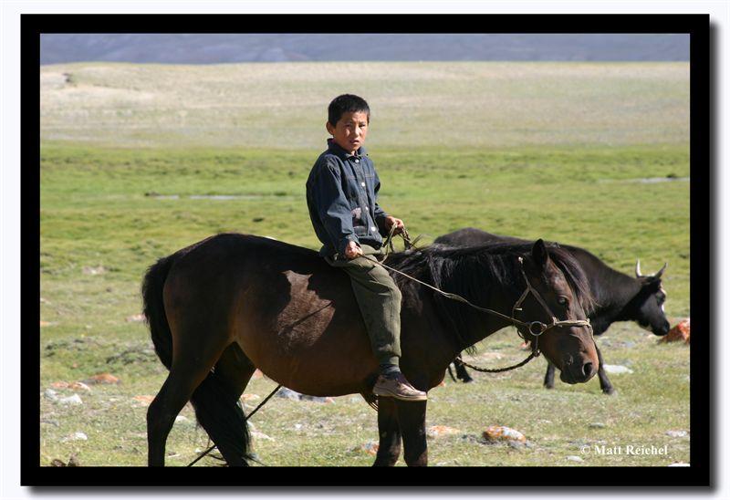 Herding Boy, Altai Tavanbogd National Park