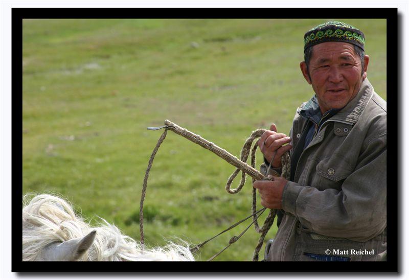 Kazakh Hearder, Altai Tavanbogd National Park