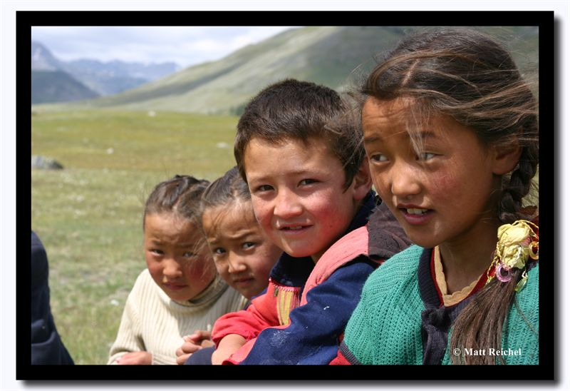 Kids, Altai Tavanbogd National Park