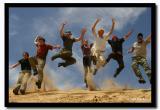 Dune Jumping, North Gobi